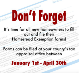 Texas Homestead Exemption - Lower Your Property Tax